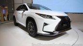 2016 Lexus RX front three quarter at the 2015 Gaikindo Indonesia International Motor Show (2015 GIIAS)