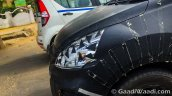 2016 Maruti Ertiga front end caught testing ahead of launch