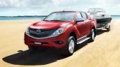 2016 Mazda BT-50 PRO front three quarter official