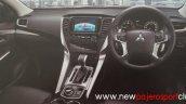 2016 Mitsubishi Pajero Sport dashboard brochure scan