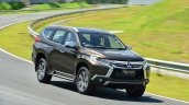 2016 Mitsubishi Pajero Sport front quarter dynamic unveiled