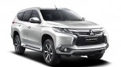 2016 Mitsubishi Pajero Sport front three quarter press shot unveiled
