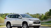 2016 Mitsubishi Pajero Sport front three quarter static unveiled