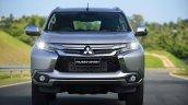 2016 Mitsubishi Pajero Sport front unveiled