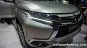 2016 Mitsubishi Pajero Sport headlamp and radiator grille at the BIG Motor Sale Thailand