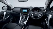 2016 Mitsubishi Pajero Sport interior unveiled