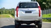 2016 Mitsubishi Pajero Sport rear unveiled