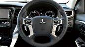 2016 Mitsubishi Pajero Sport steering wheel unveiled