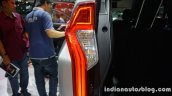 2016 Mitsubishi Pajero Sport taillamp glow at the BIG Motor Sale Thailand