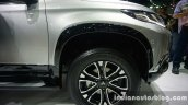 2016 Mitsubishi Pajero Sport wheel arch at the BIG Motor Sale Thailand