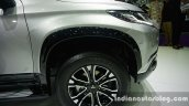 2016 Mitsubishi Pajero Sport wheel arch front at the BIG Motor Sale Thailand