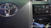 2016 Toyota Fortuner 2.8 AT steering mounted audio controls right at Thailand Big Motor Sale