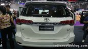 2016 Toyota Fortuner 2.8 rear at Thailand Big Motor Sale