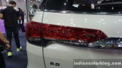 2016 Toyota Fortuner 2.8 taillamp at Thailand Big Motor Sale