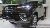 2016 Toyota Fortuner front three quarter zoom at Thailand Big Motor Sale