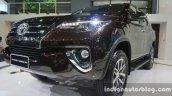 2016 Toyota Fortuner front three quarter zoom at Thailand Big Motor Sale