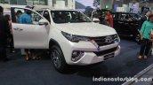 2016 Toyota Fortuner front three quarters left at Thailand Big Motor Sale
