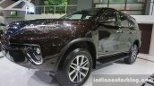 2016 Toyota Fortuner front three quarters right at Thailand Big Motor Sale