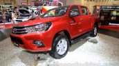 2016 Toyota Hilux Double Cab front quarter at the 2015 Gaikindo Indonesia International Auto Show (2015 GIIAS).