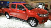 2016 Toyota Hilux Double Cab front three quarter at the 2015 Gaikindo Indonesia International Auto Show (2015 GIIAS).