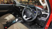 2016 Toyota Hilux Double Cab interior at the 2015 Gaikindo Indonesia International Auto Show (2015 GIIAS).