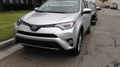 2016 Toyota RAV4 hybrid front quarter spotted in Los Angeles undisguised