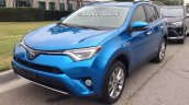 2016 Toyota RAV4 hybrid front three quarter spotted in Los Angeles undisguised