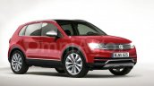 2016 VW Tiguan rims front three quarter rendering by omniauto