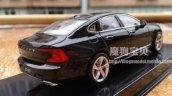 2016 Volvo S90 rear three quarter design leaked