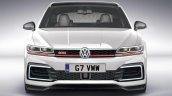 2019 VW Golf GTI front rendering