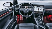 2019 VW Golf R Touch interior press image