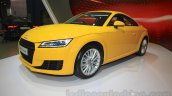 Audi TT Coupe front three quarter right at the Gaikindo Indonesia International Auto Show 2015