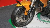 Benelli TNT 25 front disc brake at the Indonesia International Motor Show 2015 (IIMS 2015)