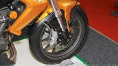 Benelli TNT 25 front wheel disc at the Indonesia International Motor Show 2015 (IIMS 2015)