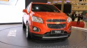 Chevrolet Trax SUV front quarter at the 2015 Gaikindo Indonesia International Auto Show (GIIAS 2015)