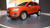 Chevrolet Trax SUV front three quarter (1) at the 2015 Gaikindo Indonesia International Auto Show (GIIAS 2015)