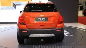 Chevrolet Trax SUV rear at the 2015 Gaikindo Indonesia International Auto Show (GIIAS 2015)