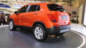 Chevrolet Trax SUV rear three quarter at the 2015 Gaikindo Indonesia International Auto Show (GIIAS 2015)