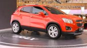 Chevrolet Trax SUV side quarter at the 2015 Gaikindo Indonesia International Auto Show (GIIAS 2015)