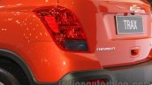 Chevrolet Trax SUV taillamps at the 2015 Gaikindo Indonesia International Auto Show (GIIAS 2015)