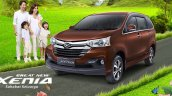 Daihatsu Great New Xenia front three quarter (1) press image