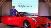 Ferrari California T front quarter low launched in Mumbai