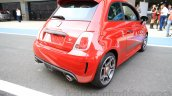 Fiat Abarth 595 Competizione for India rear three quarter right