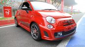 Fiat Abarth 595 Competizione front three quarter for India