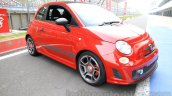 Fiat Abarth 595 Competizione front three quarter left for India