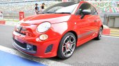 Fiat Abarth 595 Competizione front three quarter right for India