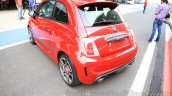 Fiat Abarth 595 Competizione rear three quarter for India