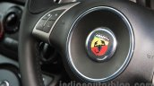 Fiat Abarth 595 Competizione steering mounted controls for India