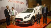 Fiat Avventura front three quarter launched in Nepal