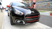 Fiat Punto Abarth front three quarter for India